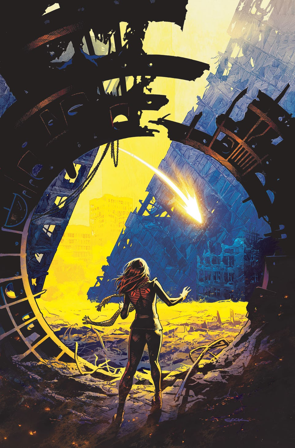 Legion of Super-Heroes: Millennium #1, copertina di Ryan Sook