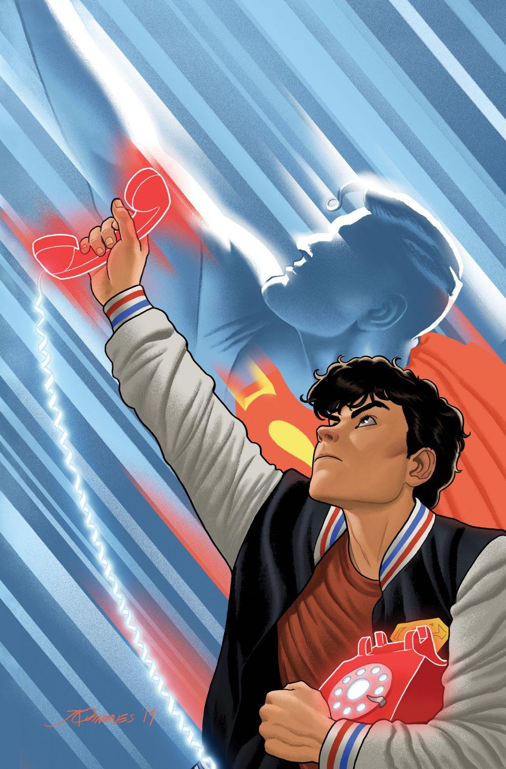 Dial H for Hero #7, copertina di Joe Quinones