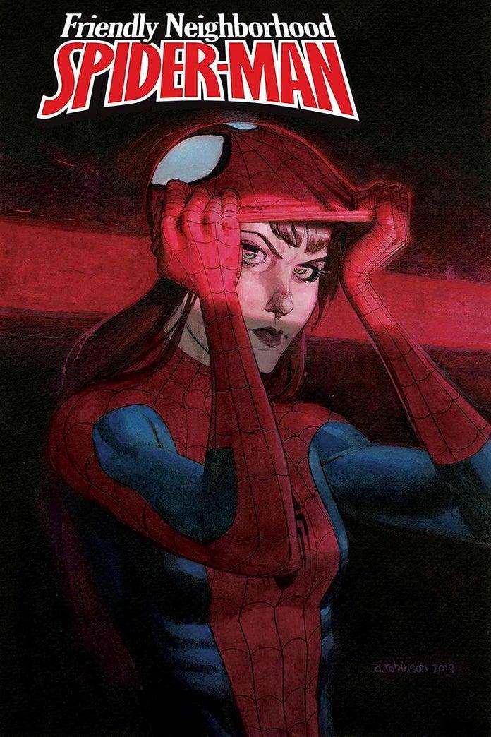 Friendly Neighborhood Spider-Man #12, copertina di Andrew C. Robinson
