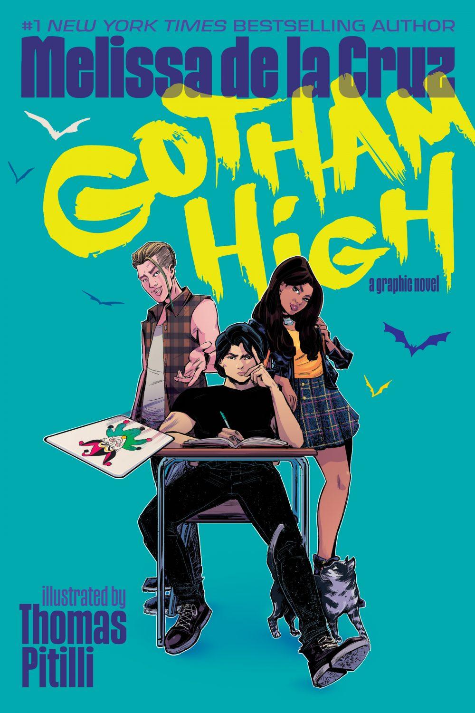 Gotham High, copertina di Thomas Pitilli