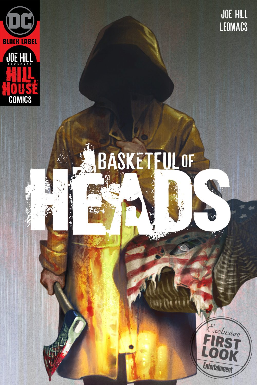 Basketful of Heads #1, copertina di Leomacs