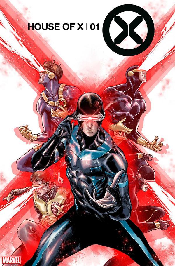 House of X #1, variant cover di Marco Checchetto