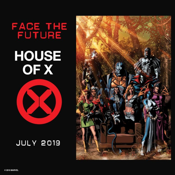 House of X, teaser di Mike Deodato Jr.
