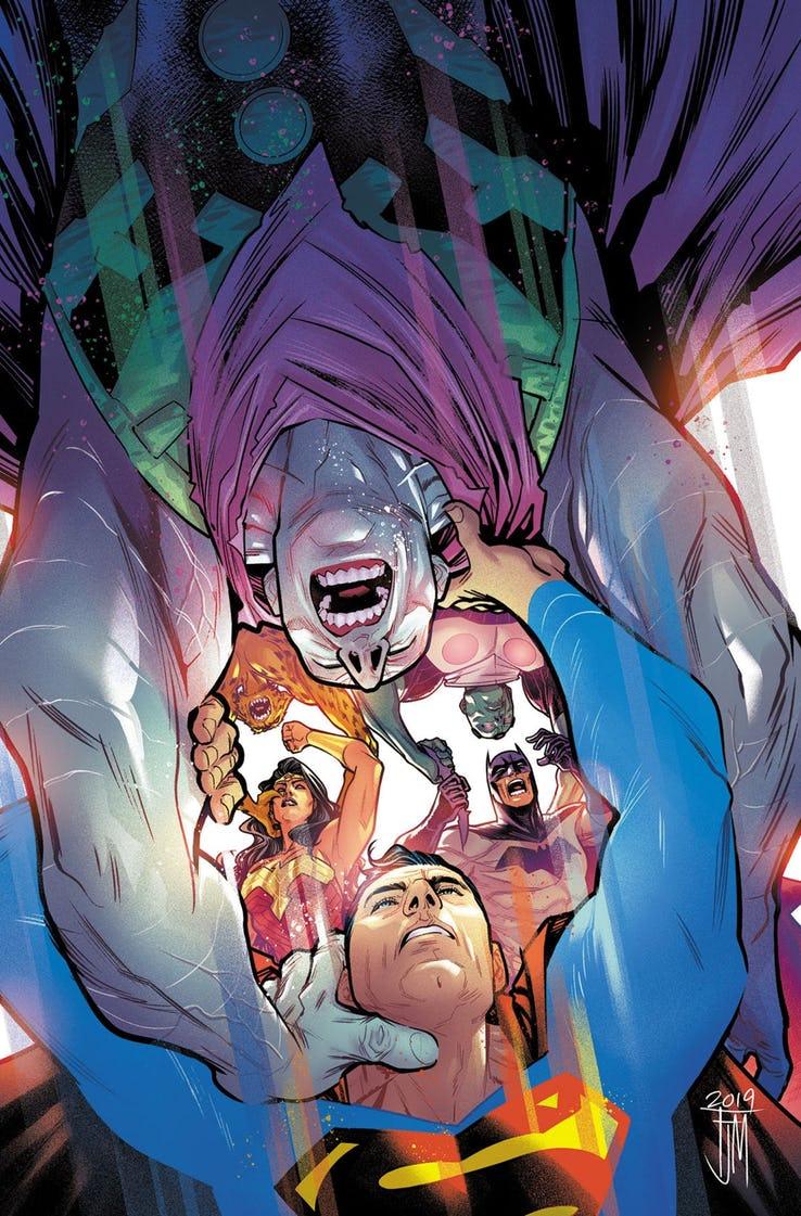 Justice League #30, copertina di Francis Manapul
