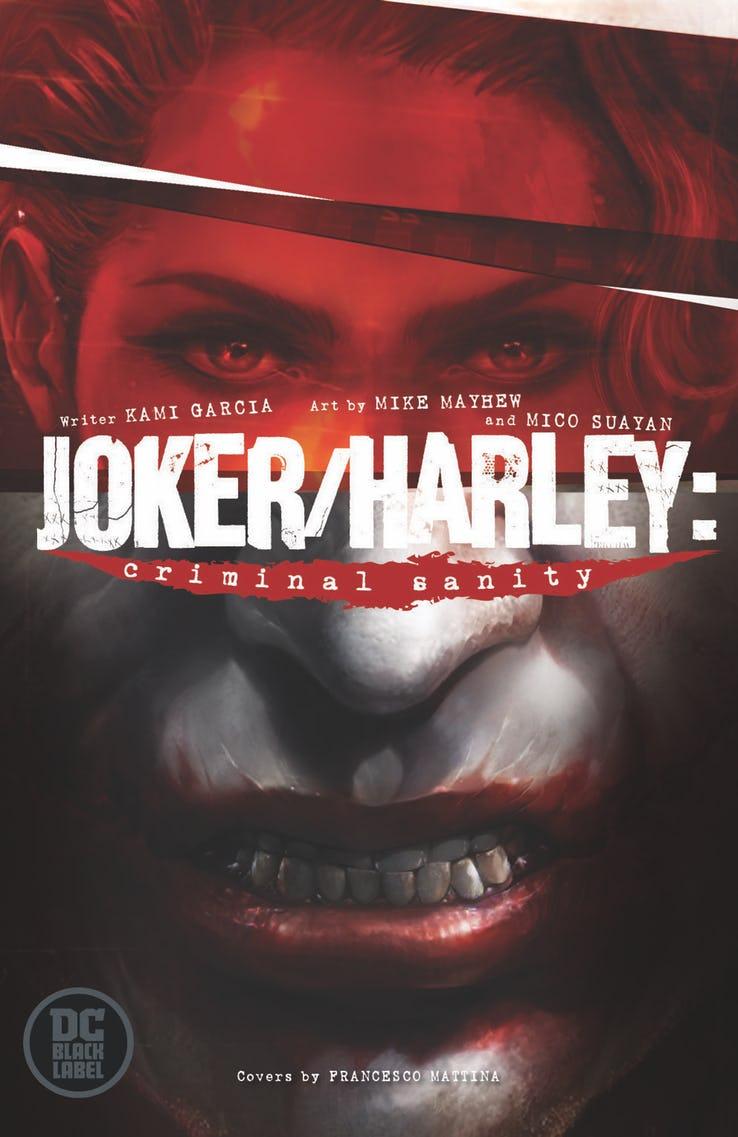 Joker/Harley: Criminal Sanity, copertina di Francesco Mattina