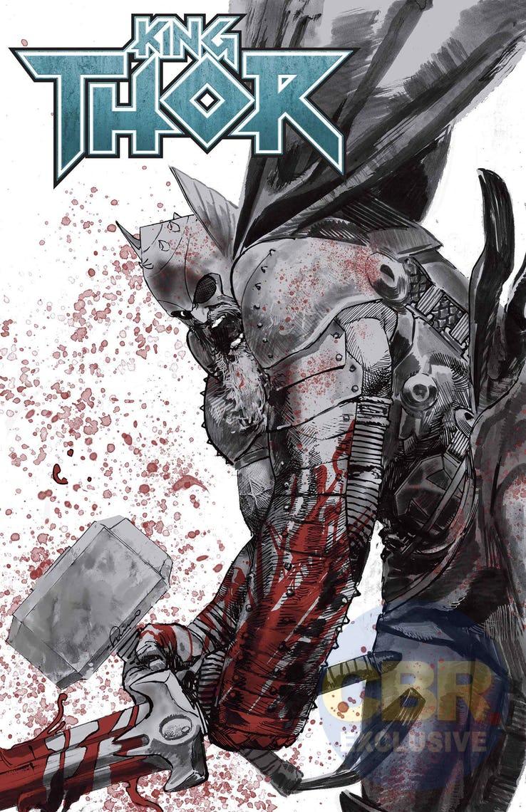 King Thor #1, variant cover di Gerardo Zaffino