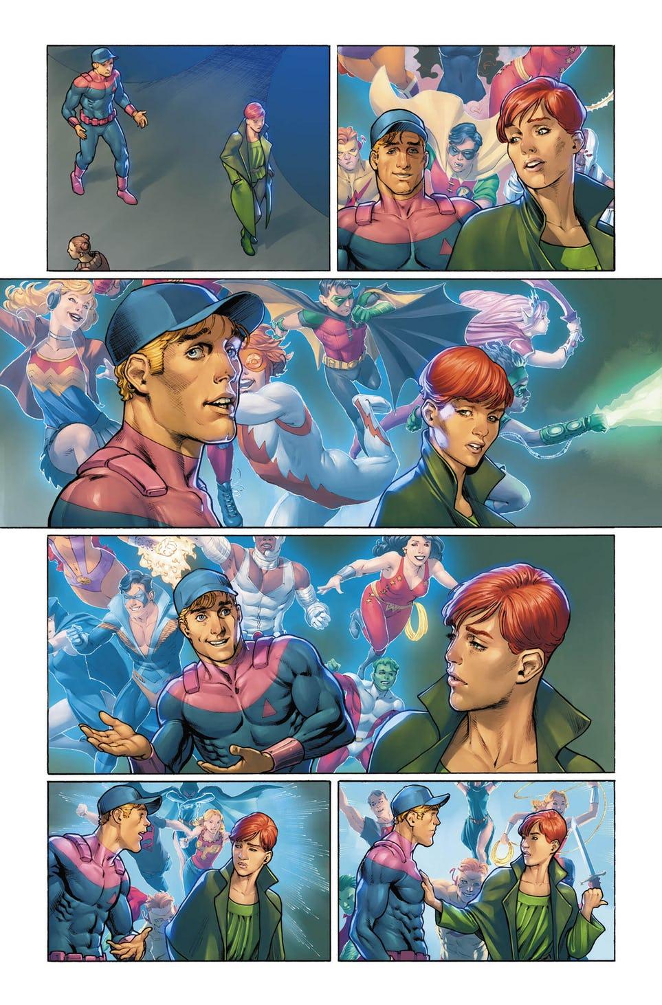 Legion of Super-Heroes: Millennium #1, anteprima 03