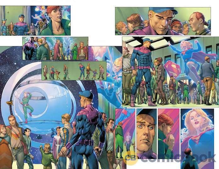Legion of Super-Heroes: Millennium #1, anteprima 01