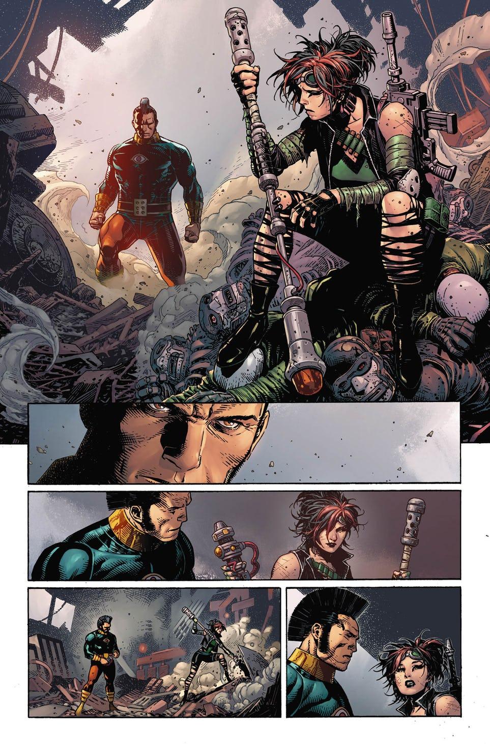 Legion of Super-Heroes: Millennium #1, anteprima 05