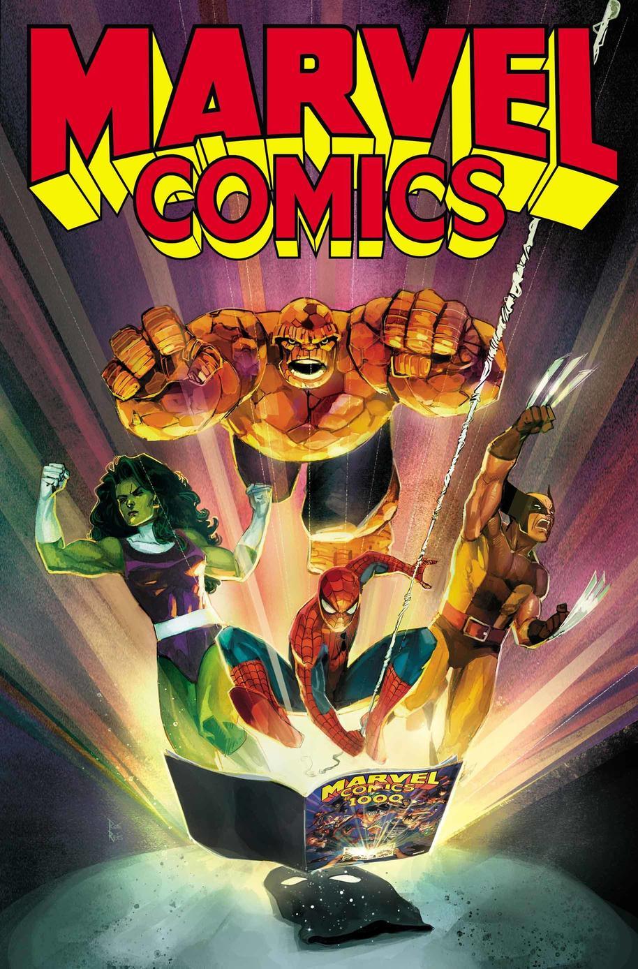 Marvel Comics #1001, copertina di Rod Reis