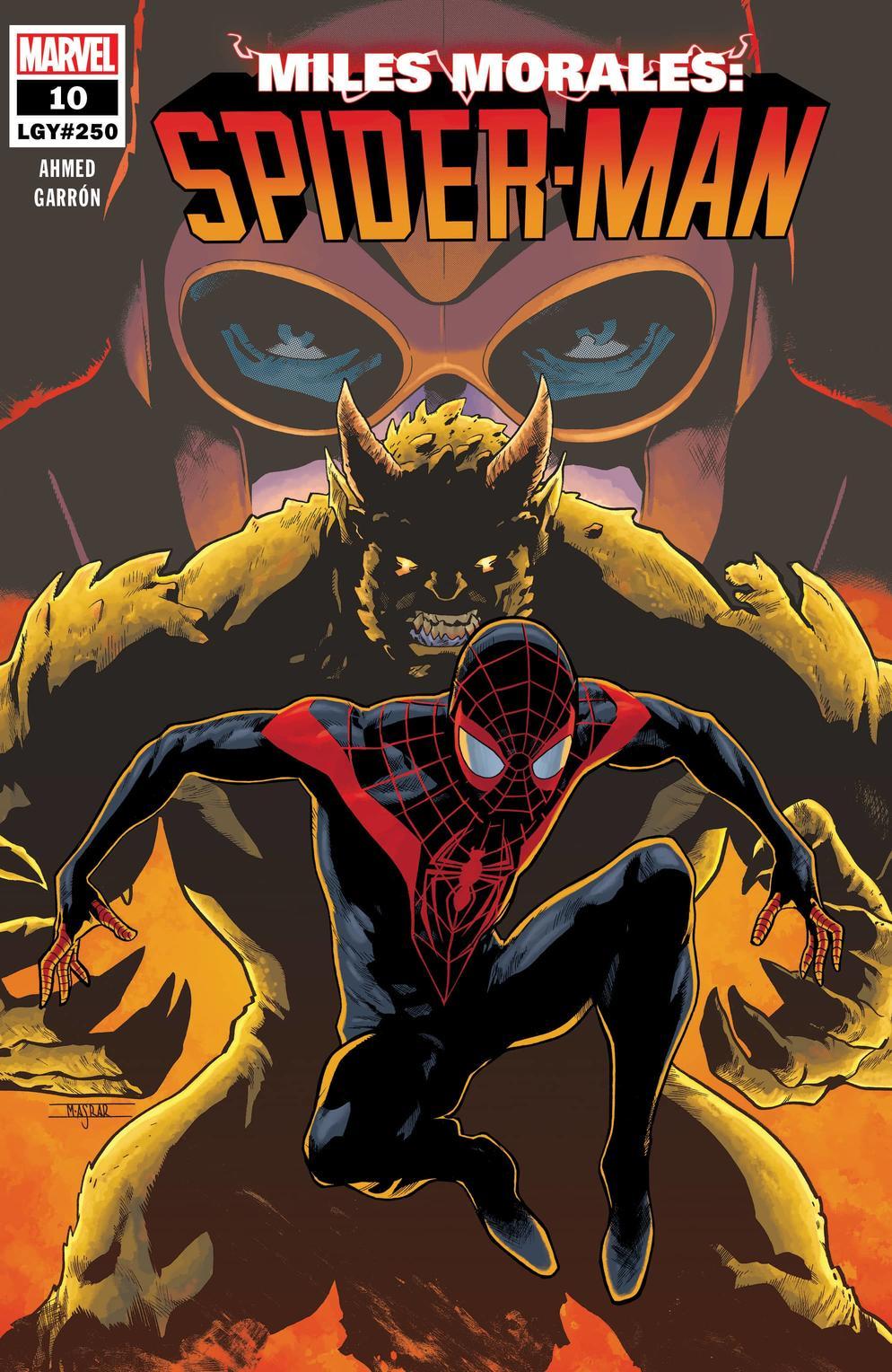 Miles Morales: Spider-Man #10, copertina di Mahmud Asrar