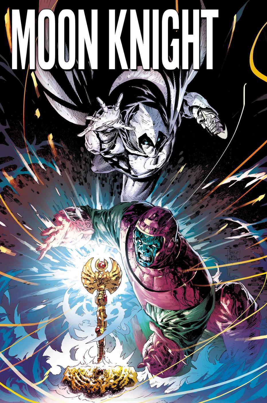 Moon Knight Annual #1, copertina di Philip Tan