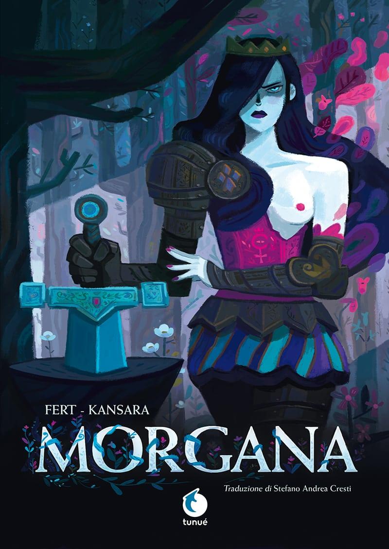 Morgana, copertina di Stéphane Fert