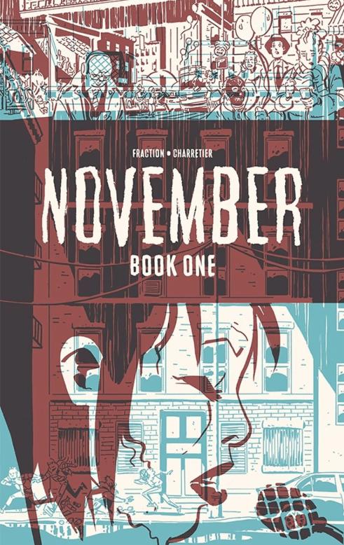 November, copertina di Elsa Charretier