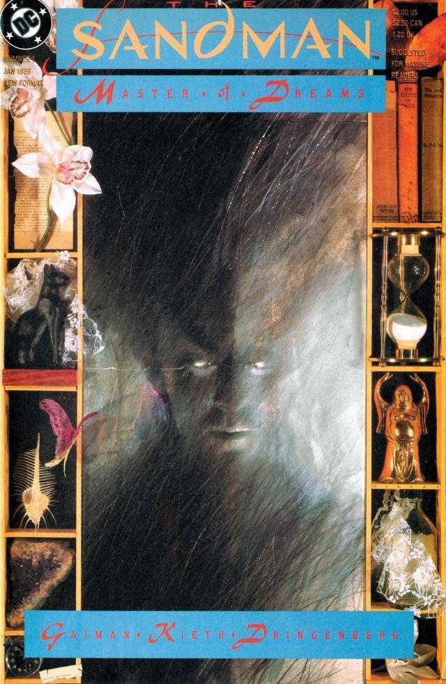 Sandman #1, copertina di Dave McKean