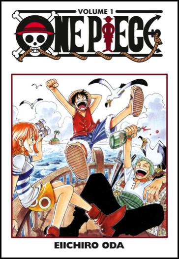One Piece, copertina di Eiichiro Oda