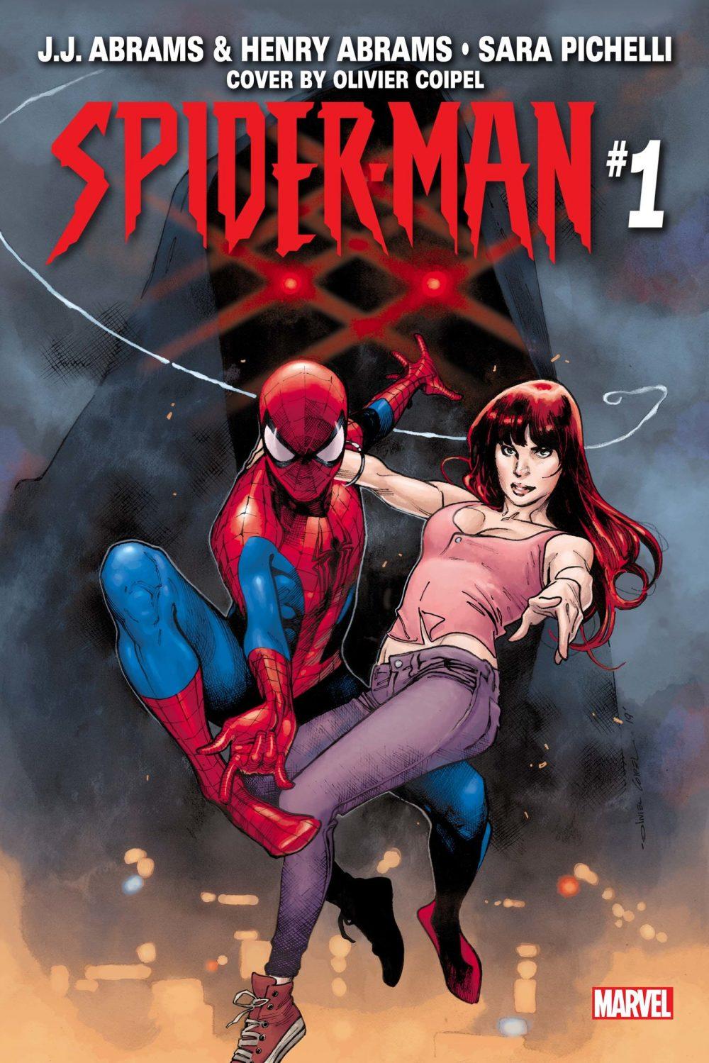 Spider-Man #1, copertina di Olivier Coipel