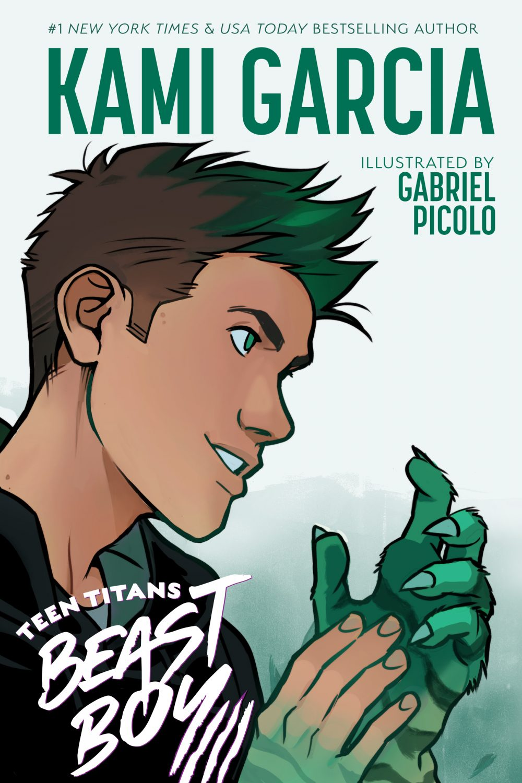 Teen Titans: Beast Boy, copertina di Gabriel Picolo