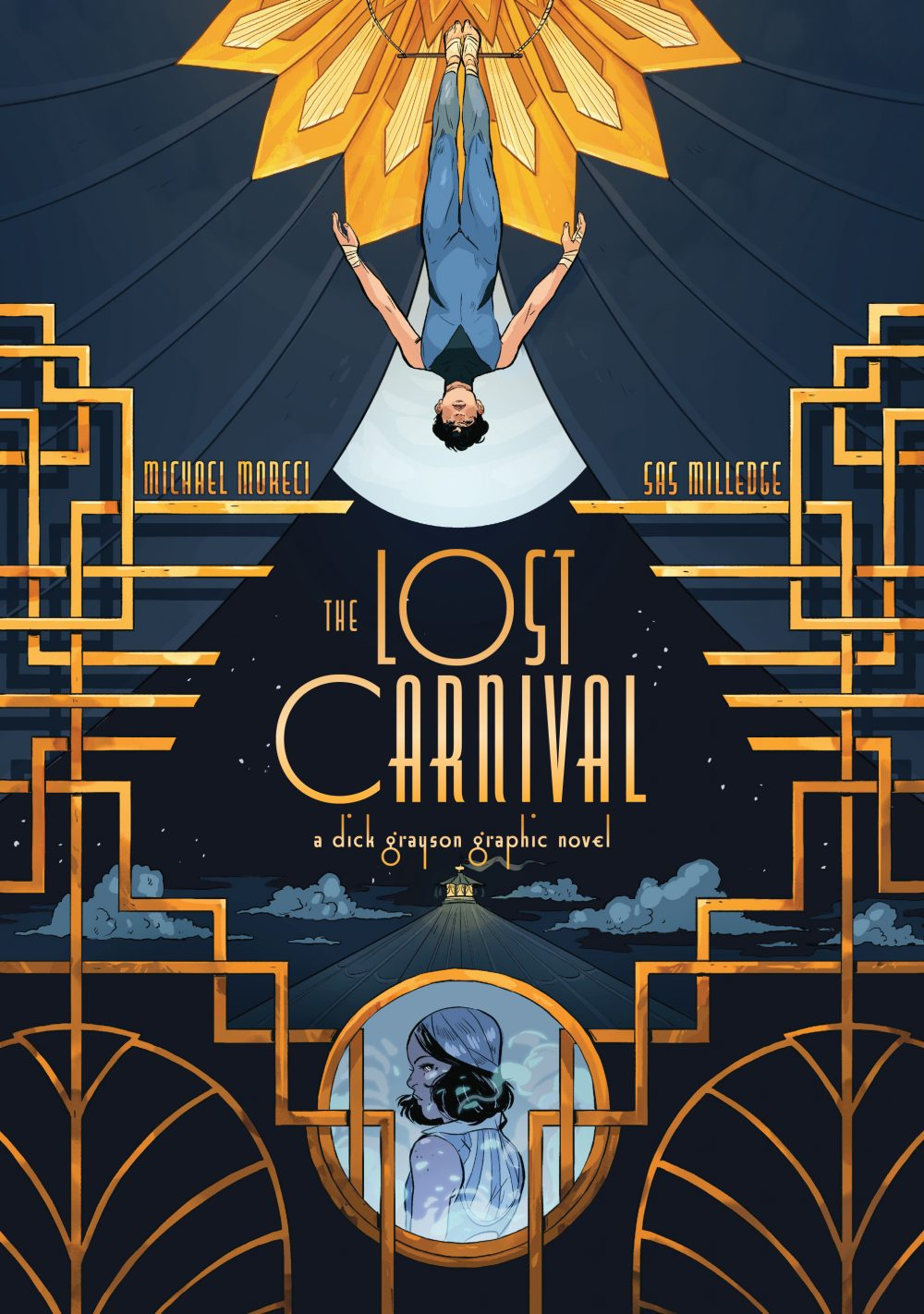 The Lost Carnival, copertina di Sas Milledge