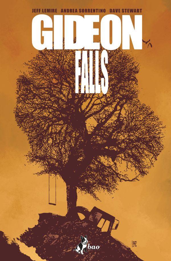 Gideon Falls vol. 2: Peccati originali, copertina di Andrea Sorrentino