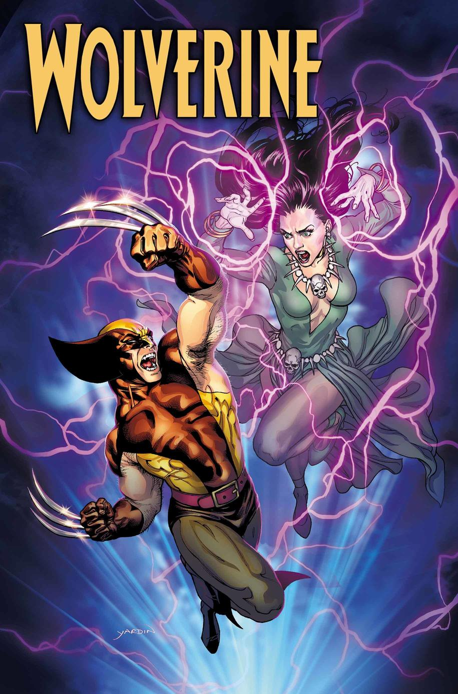 Wolverine Annual #1, copertina di David Yardin