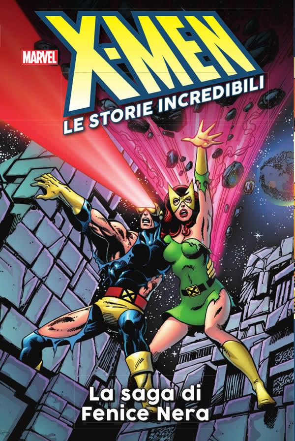 X-Men: Le storie incredibili 1: La saga di Fenice Nera, copertina di John Byrne