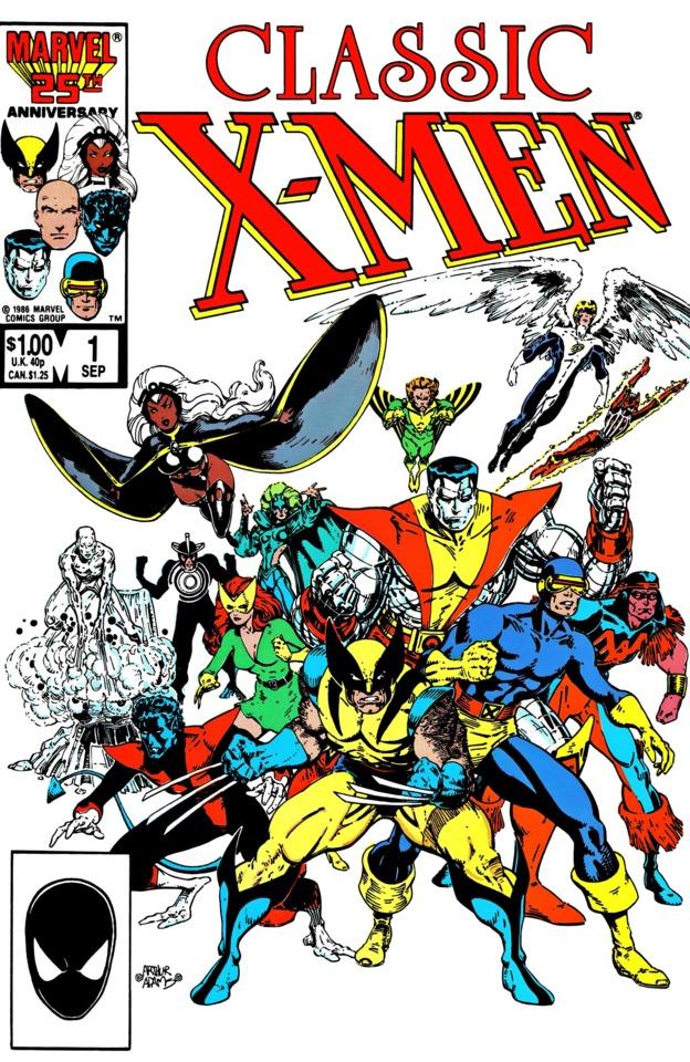 Classic X-Men #1, copertina di Arthur Adams