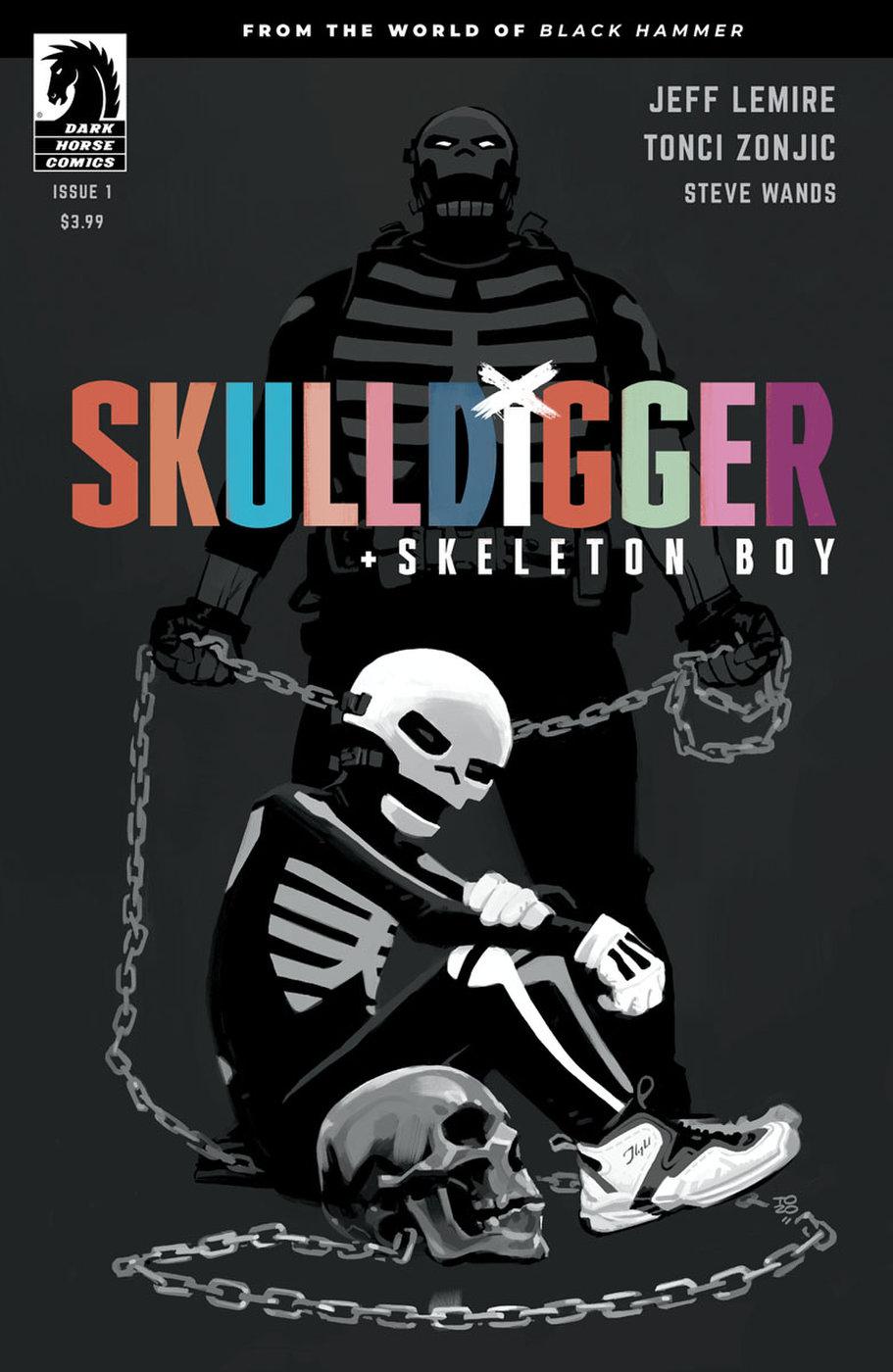 Skulldigger + Skeleton Boy #1, copertina di Tonci Zonjic