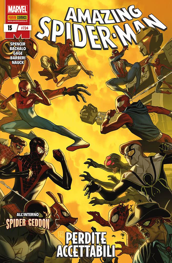 Amazing Spider-Man 15, copertina di Paolo Rivera