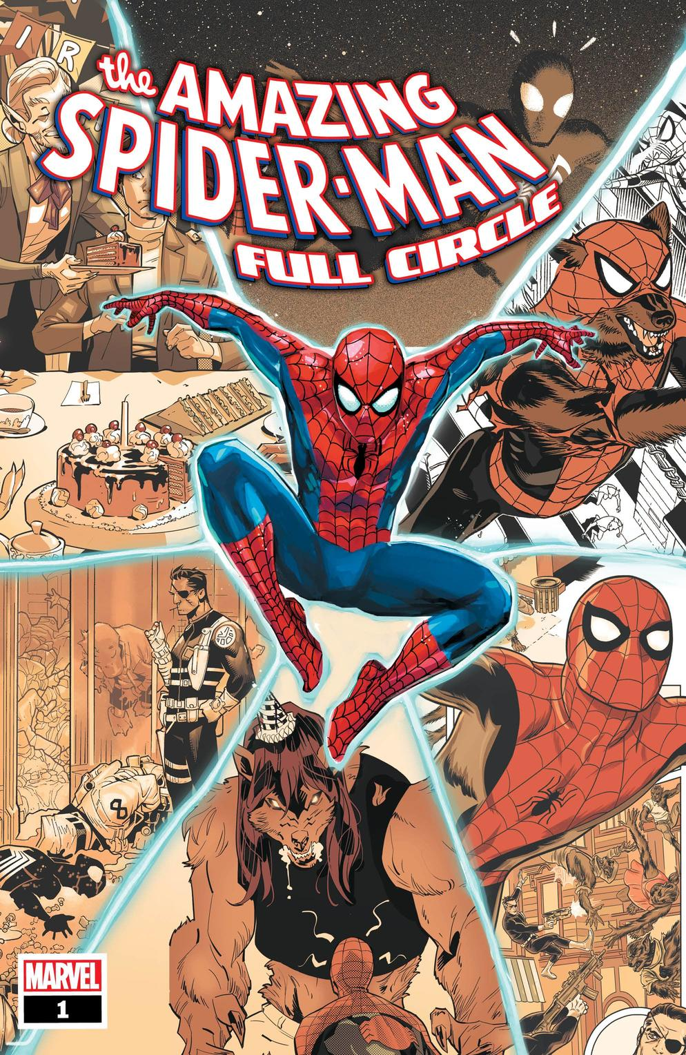 Amazing Spider-Man: Full Circle #1, copertina di Rod Reis