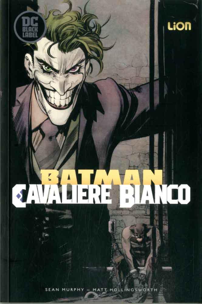 Batman: Cavaliere Bianco vol. 2, copertina di Sean Murphy