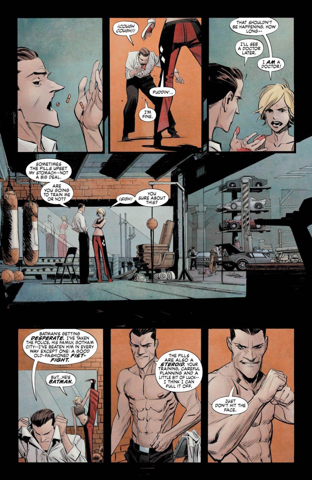 Batman: White Knight #5, anteprima 01