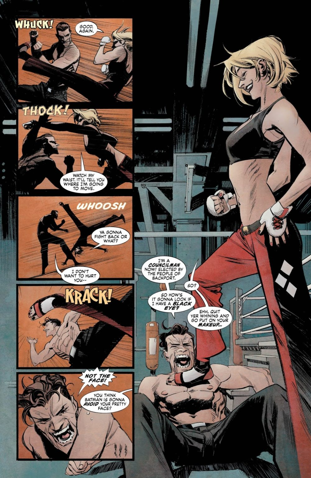 Batman: White Knight #5, anteprima 02