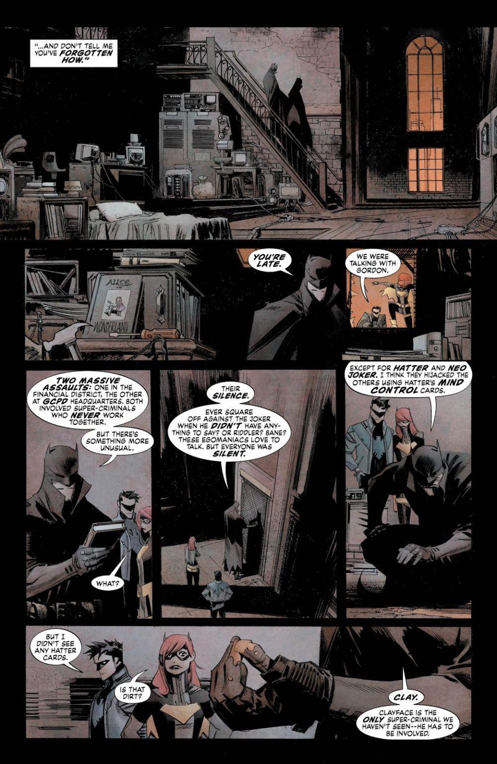 Batman: White Knight #5, anteprima 03