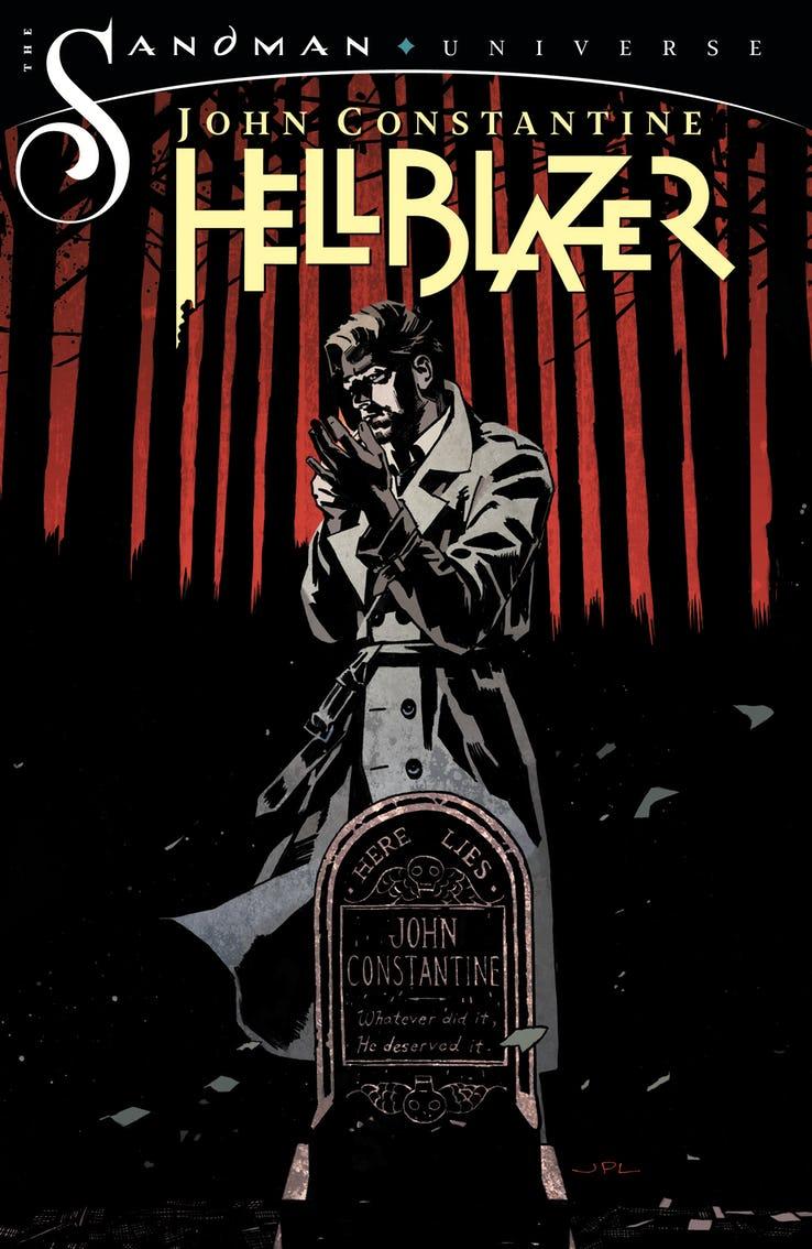 Constantine, Hellblazer, copertina di John Paul Leon