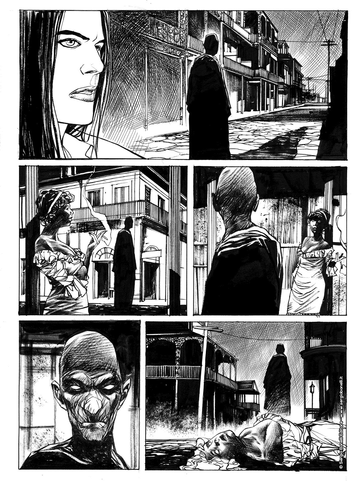 Dampyr 231: La città dell'Uomo Nero, anteprima 02
