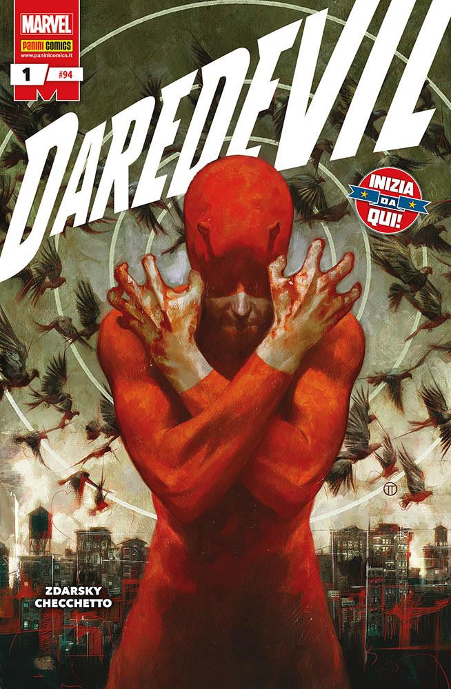 Daredevil 1, copertina di Julian Tedesco