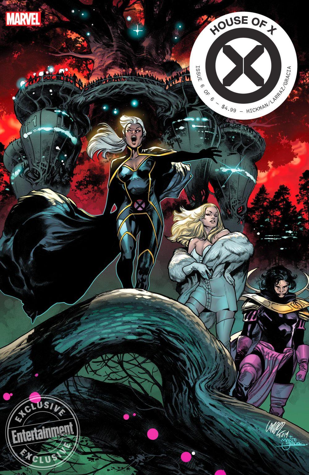 House of X #6, copertina di Pepe Larraz