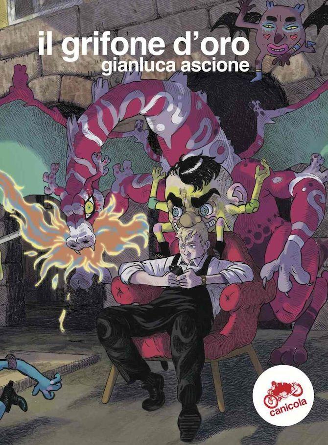 Il grifone d'oro, copertina di Gianluca Ascione