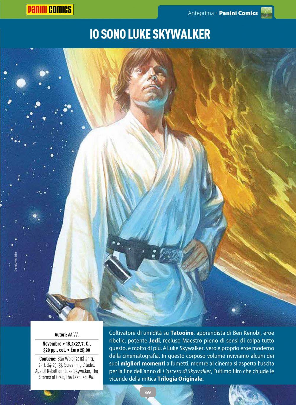 Io sono Luke Skywalker su Anteprima