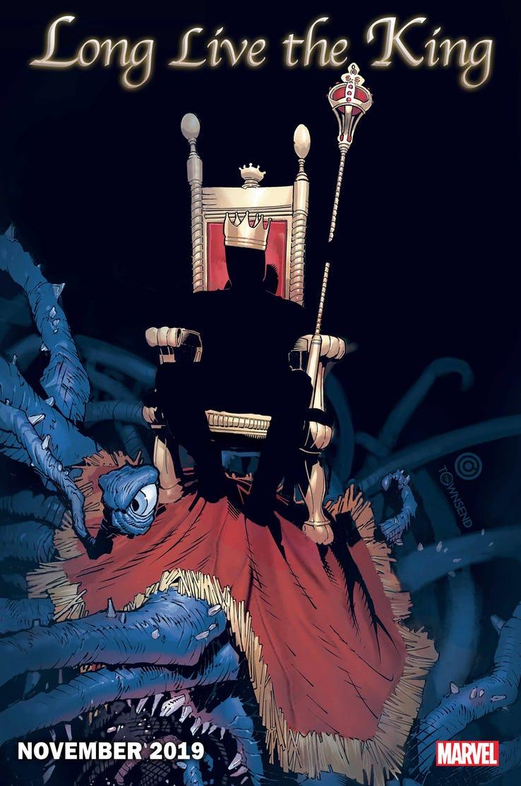 Long live the king, teaser di Chris Bachalo