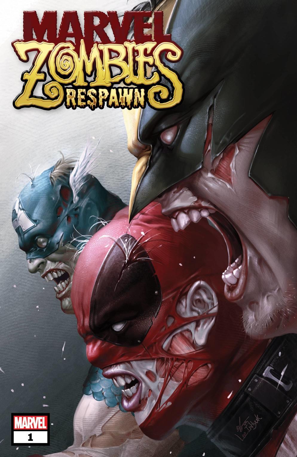 Marvel Zombies: Respawn #1, copertina di InHyuk Lee