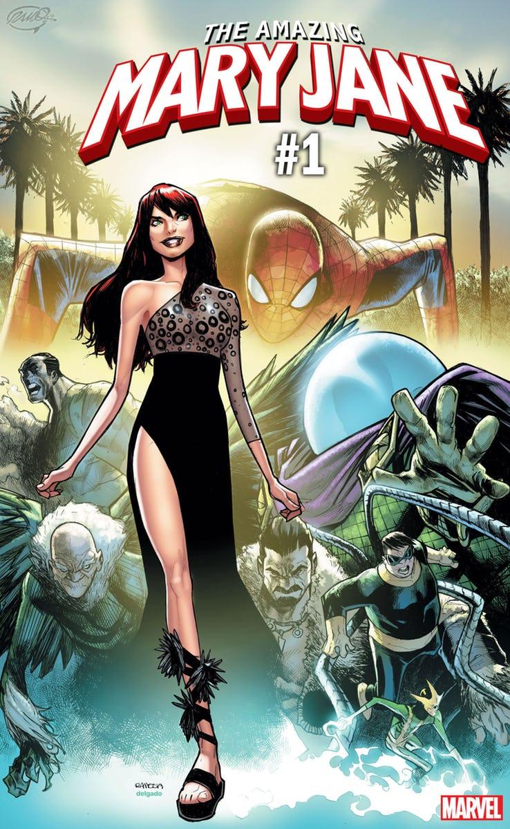 Amazing Mary Jane #1, copertina di Humberto Ramos