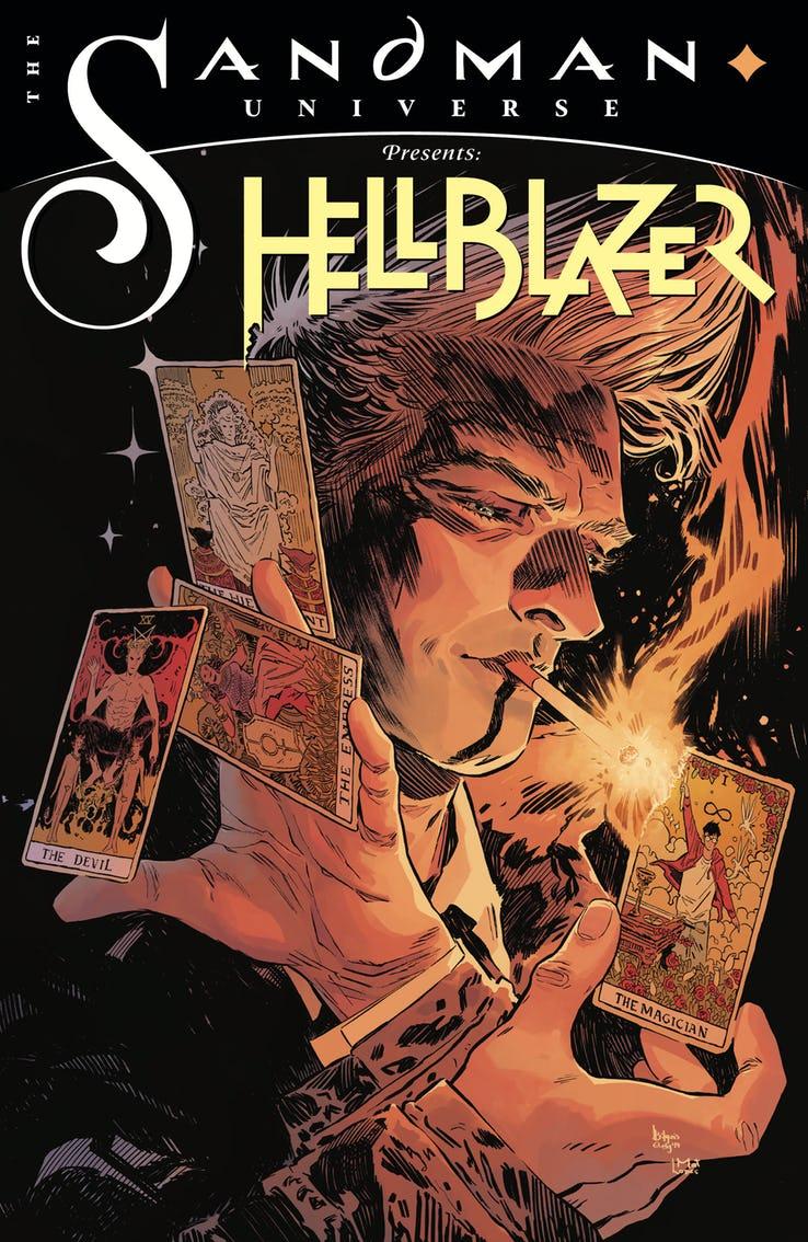 Sandman Universe Presents Hellblazer #1, copertina di Bilquis Evely
