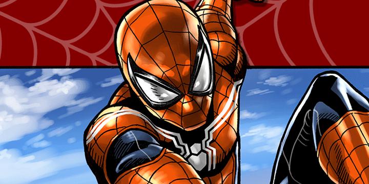 Spider-Man- Fake Red