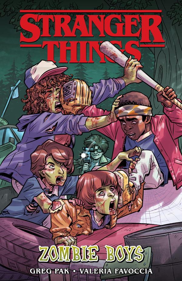 Stranger Things: Zombie Boys, copertina di Ron Chan