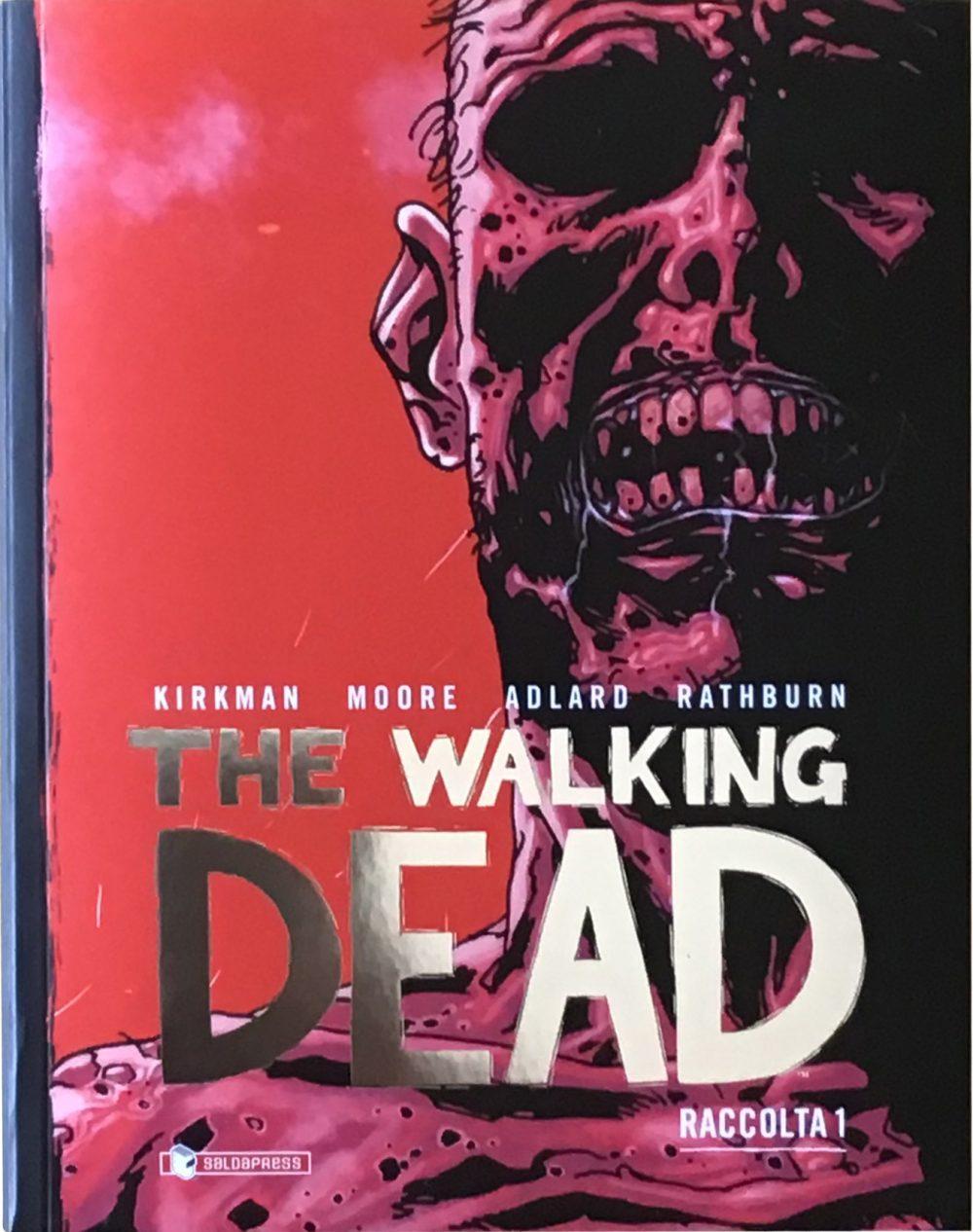 The Walking Dead Raccolta vol. 1, copertina di Charlie Adlard