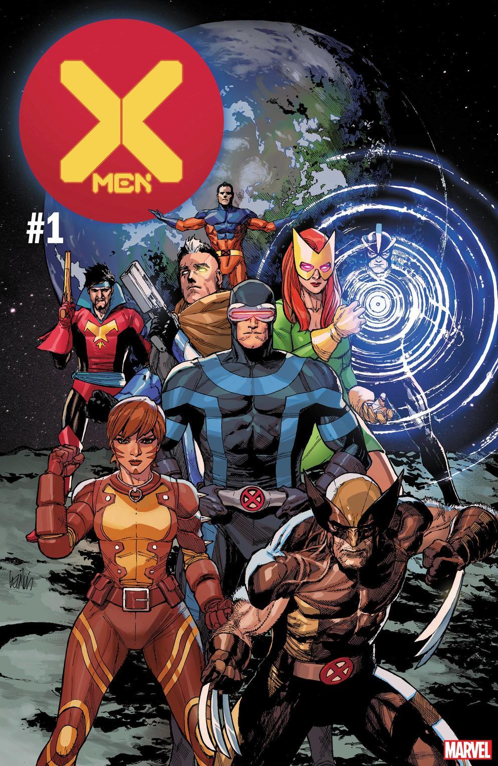 X-Men #1, copertina di Leinil Francis Yu