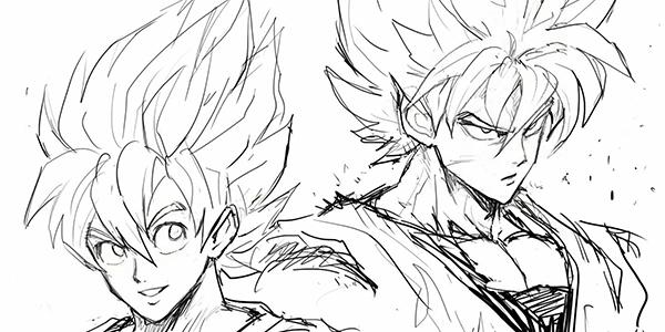 Dragon Ball, illustrazione di Yusuke Murata