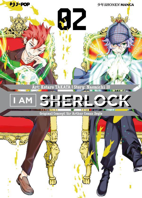 I Am Sherlock 2, copertina di Kotaro Takata